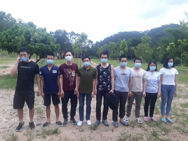 Quang Ninh bat 16 doi tuong nhap canh trai phep, dua di cach ly hinh anh 1