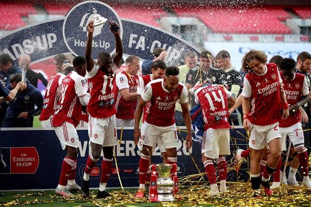 Khoanh khac dang nho trong ngay Arsenal lap nen ky tich o FA Cup hinh anh 1