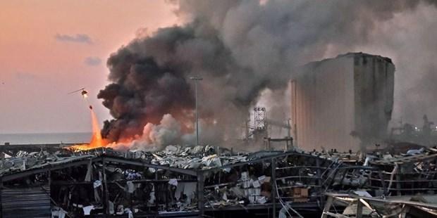 Vụ nổ ở Liban: Nhiều nhân viên Đại sứ quán Đức bị thương