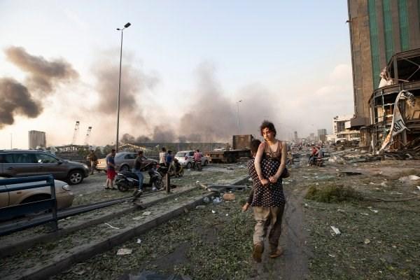 Vu no o Beirut: Liban de nghi quan doi giam sat an ninh tai thu do hinh anh 1