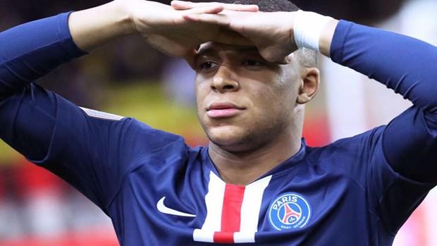 Kylian Mbappe tro lai tap luyen, san sang cho tran PSG-Atalanta hinh anh 1
