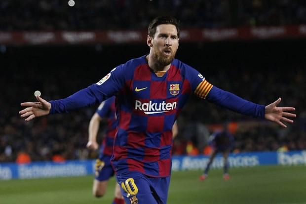 Hansi Flick se ap dung chien thuat nao khi doi dau Messi-Barca? hinh anh 1