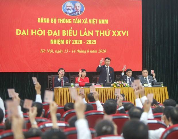 Ong Le Quoc Minh giu chuc Bi thu Dang uy TTXVN nhiem ky 2020-2025 hinh anh 1