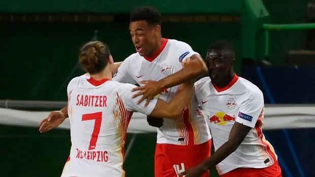 Ha Atletico, RB Leipzig lan dau vao ban ket Champions League hinh anh 1