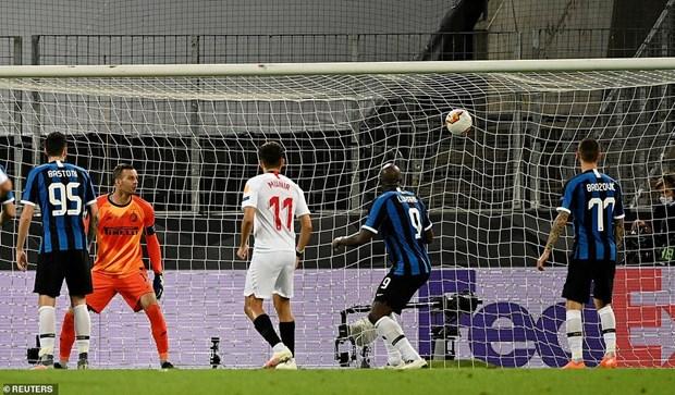 Danh bai Inter Milan, Sevilla lan thu 6 vo dich Europa League hinh anh 4