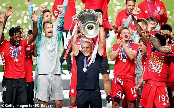 Danh bai PSG, Bayern Munich dang quang Champions League hinh anh 1