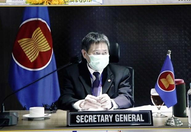 ASEAN-Trung Quoc ghi nhan thuong mai song phuong van tang manh hinh anh 1