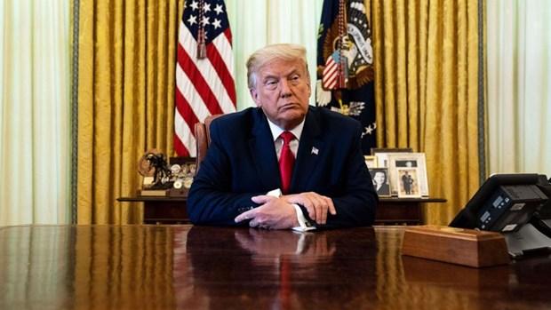 Tong thong Donald Trump bac bo tin don ve tinh trang suc khoe hinh anh 1