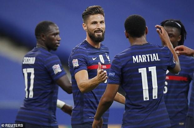 Ket qua Nations League: Bi va Phap thang dam, Ronaldo lap cu dup hinh anh 1