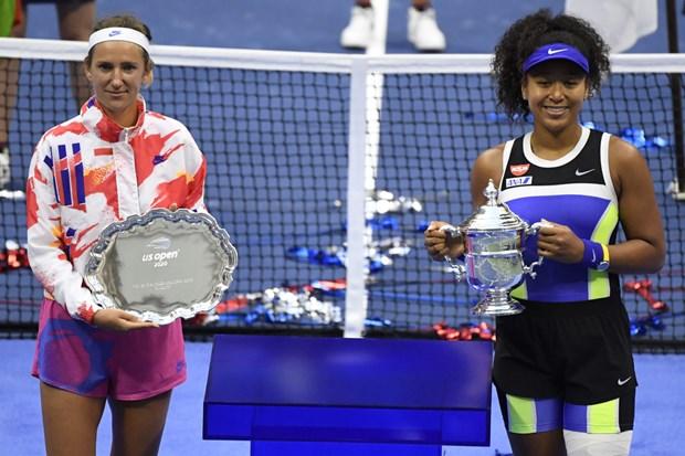 Thang nguoc Azarenka, Naomi Osaka lan thu 2 vo dich US Open hinh anh 1