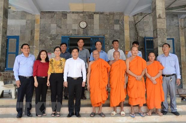 Soc Trang: Dong bao Khmer don le Sene Dolta tren tinh than doan ket hinh anh 2