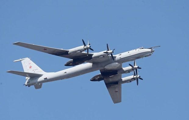 Nga dieu may bay chong ngam Tu-142 giam sat tren Bien Den hinh anh 1