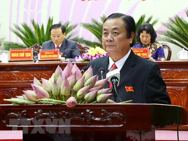 Ong Le Minh Hoan lam Thu truong Bo Nong nghiep va Phat trien nong thon hinh anh 1
