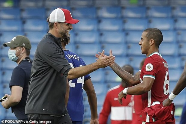 Thiago Alcantara lap ky luc tai Premier League o tran ra mat Liverpool hinh anh 4