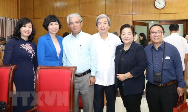 Ong Uong Chu Luu tai dac cu Chu tich Uy ban Hoa binh Viet Nam hinh anh 1