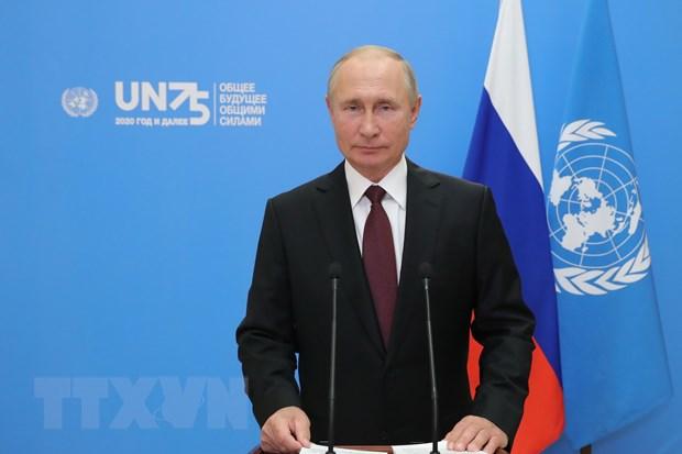 Tong thong Nga Putin duoc de cu giai Nobel Hoa binh nam 2021 hinh anh 1