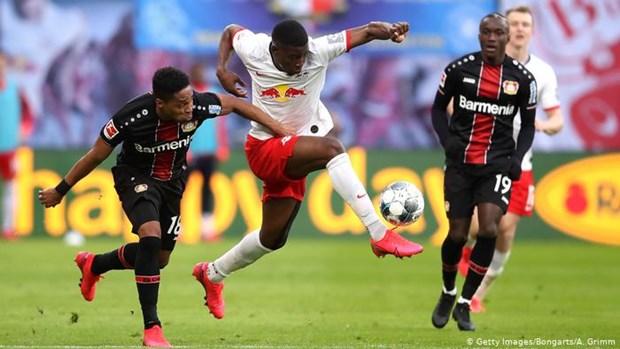Vong 2 Bundesliga: Leverkusen dau Leipzig, Bayern tiep tuc huy diet hinh anh 1