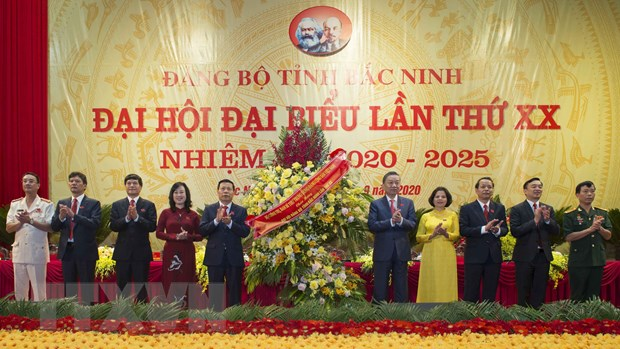 Bo truong To Lam du va chi dao Dai hoi Dang bo tinh Bac Ninh hinh anh 1