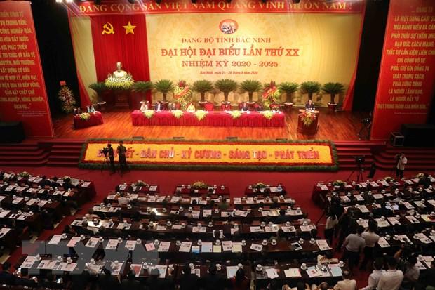 Bo truong To Lam du va chi dao Dai hoi Dang bo tinh Bac Ninh hinh anh 2