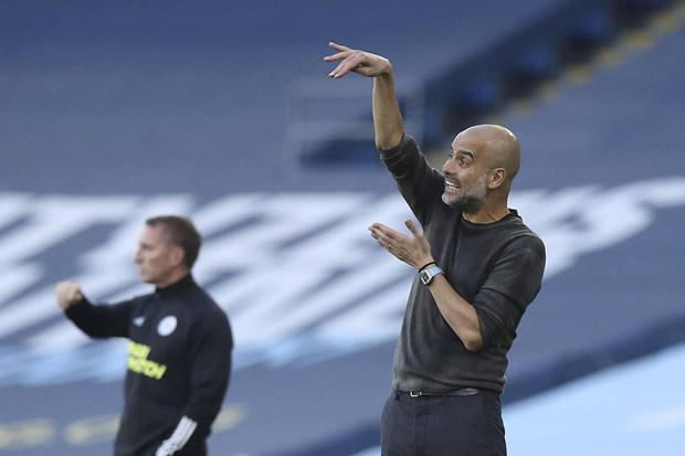 Thang dam Man City 5-2, Leicester chiem ngoi dau Premier League hinh anh 2
