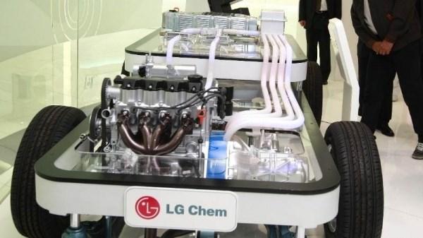 Cong ty LG Chem Ltd. dan dau doanh so ban pin xe dien toan cau hinh anh 1
