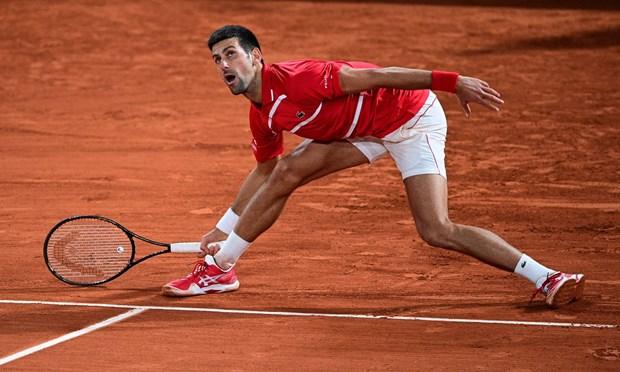 Rafael Nadal 'dai chien' Novak Djokovic o chung ket Roland Garros hinh anh 1