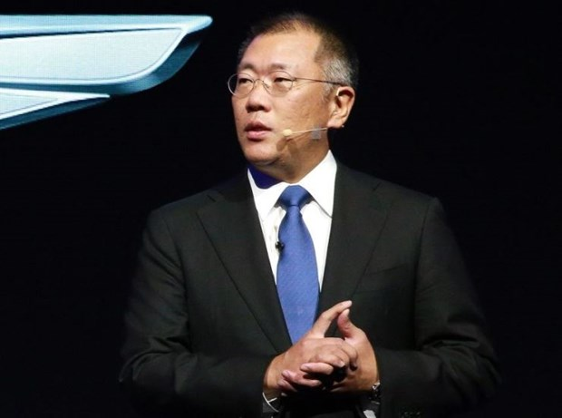 Ong Chung Eui-sun chinh thuc tro thanh Chu tich Tap doan oto Hyundai hinh anh 1