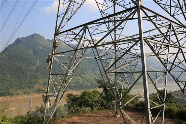 Du an duong day 500 kV mach 3 co nguy co cham tien do hinh anh 1
