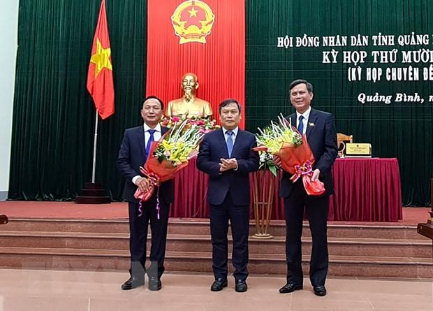 Quang Binh bau chuc danh Chu tich Hoi dong nhan dan va Uy ban nhan dan hinh anh 1
