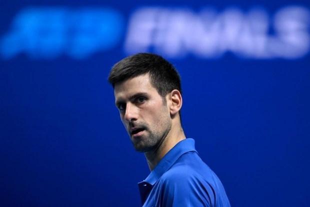 Novak Djokovic doi dau Dominic Thiem o ban ket ATP Finals hinh anh 1