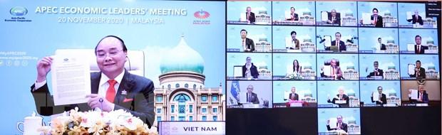 APEC 2020: Tai khang dinh cam ket voi he thong thuong mai da phuong hinh anh 1