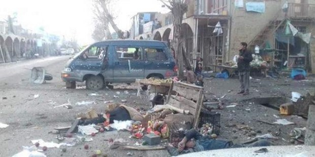 Danh bom tham khoc tai Afghanistan, 14 nguoi thiet mang hinh anh 1