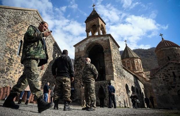 Azerbaijan tiep quan huyen thu 2 o khu vuc Nagorny-Karabakh hinh anh 1
