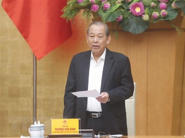 Thanh lap Ban chi dao tong ket Chien luoc phong chong tham nhung hinh anh 1