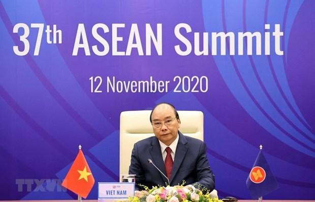 'My tang cuong hop tac voi ASEAN nho vai tro Chu tich cua Viet Nam' hinh anh 1