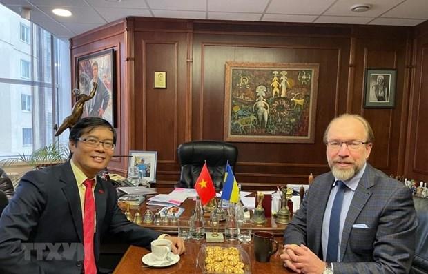 'Viet Nam la doi tac quan trong cua Ukraine trong ASEAN' hinh anh 1