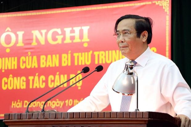 Dai hoi Dang XIII: Bao dam co cau, chat luong nhan su duoc nang len hinh anh 2