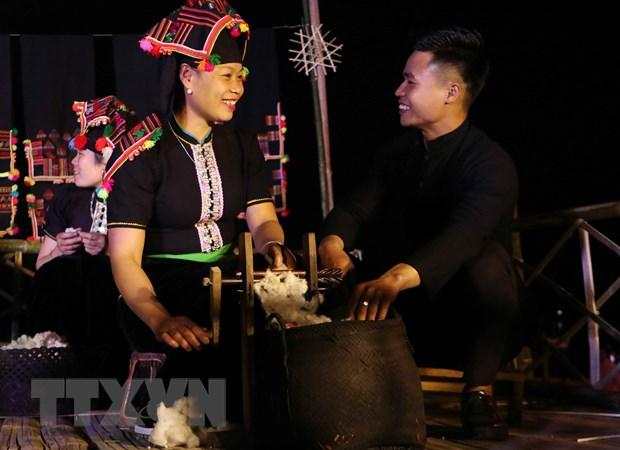 Dac sac le hoi Han Khuong cua nguoi Thai den o Than Uyen hinh anh 2