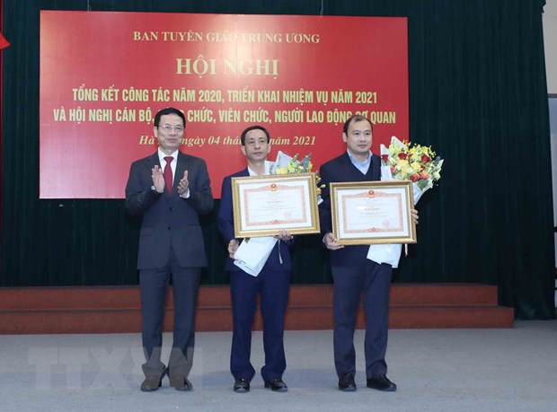 Ban Tuyen giao Trung uong trien khai nhiem vu nam 2021 hinh anh 2