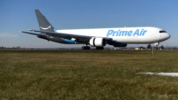 Tap doan Amazon mua may bay de cung co mang luoi giao hang hinh anh 1