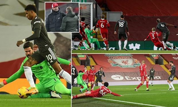 Premier League: Liverpool-M.U chia diem, Man City len nhi bang hinh anh 1