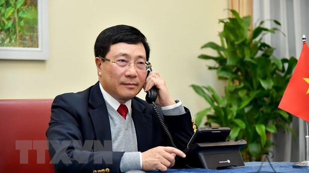 PTT Pham Binh Minh dien dam voi Bo truong Bo Ngoai giao Brunei hinh anh 1