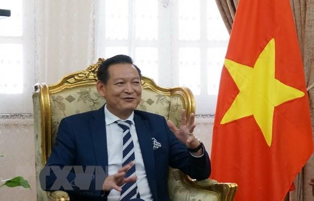Cong dong Viet Nam tai Ai Cap tin tuong vao tuong lai cua dat nuoc hinh anh 1