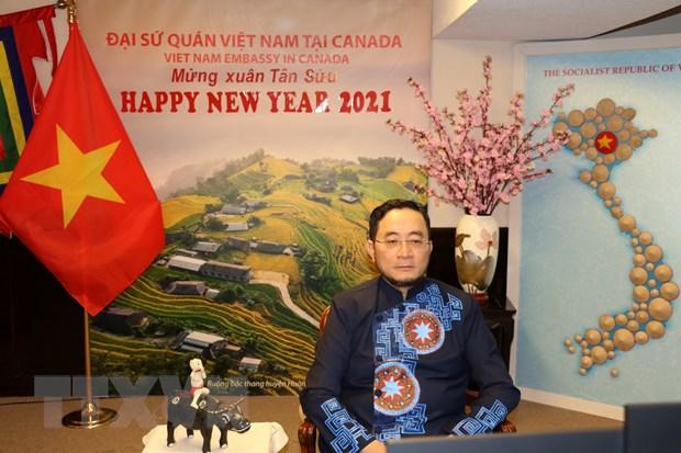 Canada danh gia cao moi quan he hop tac toan dien voi Viet Nam hinh anh 1