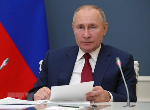 'Bai phat bieu cua ong Putin tai WEF khong co y dinh gay doi dau' hinh anh 1