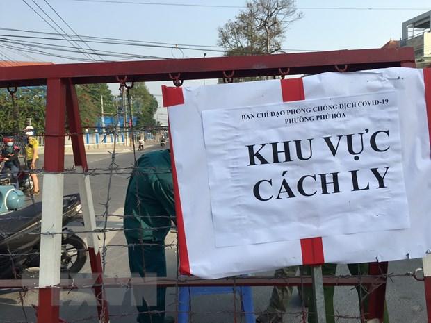 Binh Duong: Khong co viec phong toa them phuong Chanh Nghia hinh anh 1