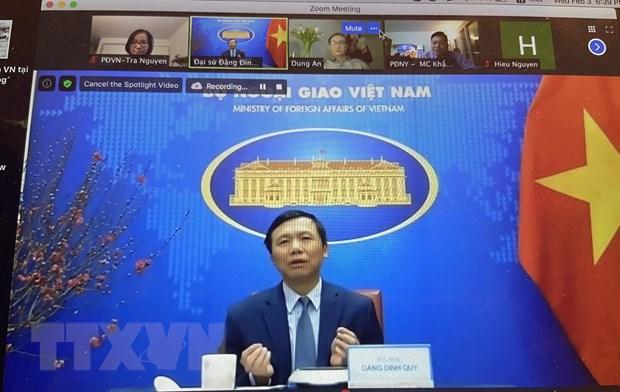 Cong dong nguoi Viet tai New York gap mat truc tuyen don Xuan Tan Suu hinh anh 1