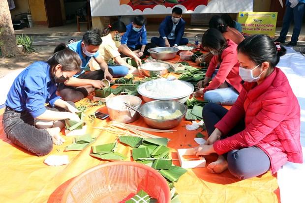 Hai Duong: Hang nghin banh chung gui tang nhung nguoi o khu cach ly hinh anh 2