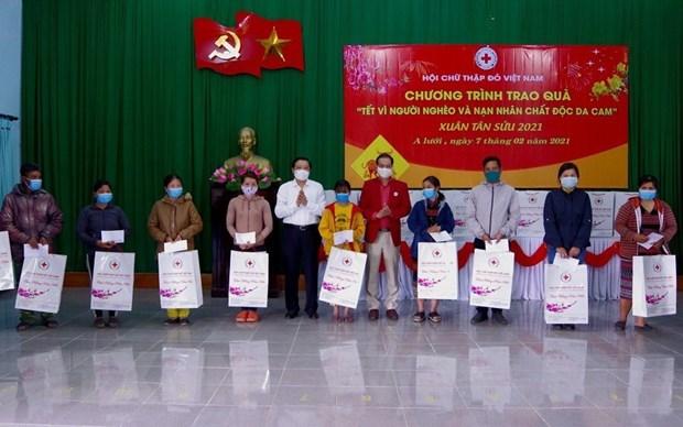 Truong ban Noi chinh Trung uong tham, chuc Tet tai Thua Thien-Hue hinh anh 1