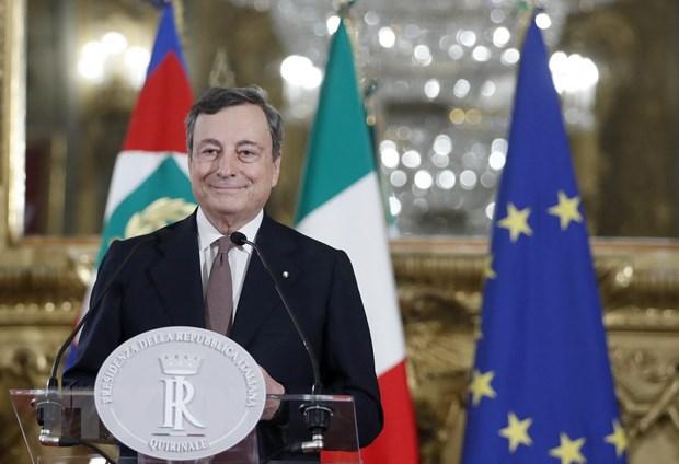 Italy: Ong Mario Draghi gioi thieu danh sach noi cac gom 23 bo truong hinh anh 1